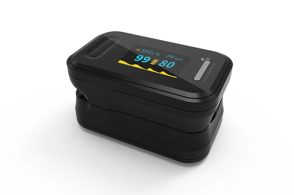Fingertip Pulse Oximeter B-81 1