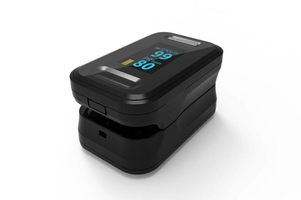 Fingertip Pulse Oximeter B-81 2