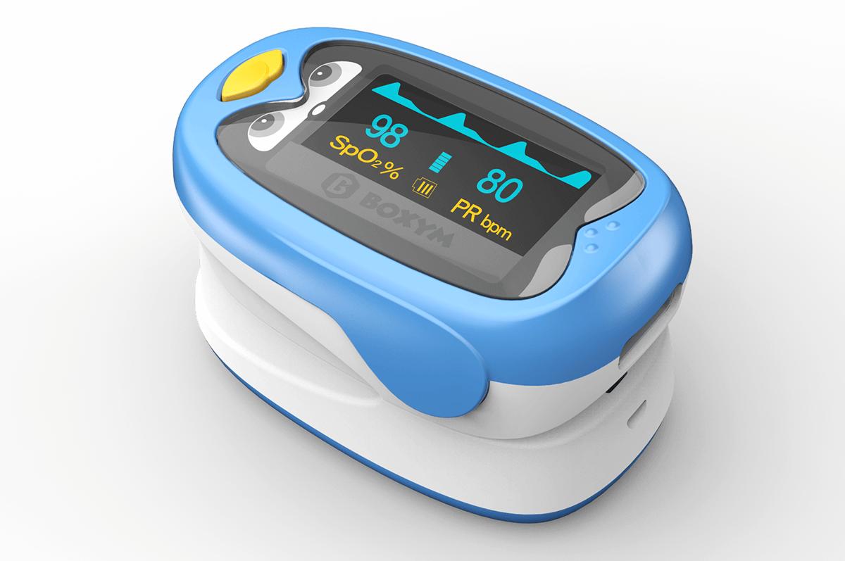 Fingertip pulse oximeter for Kids