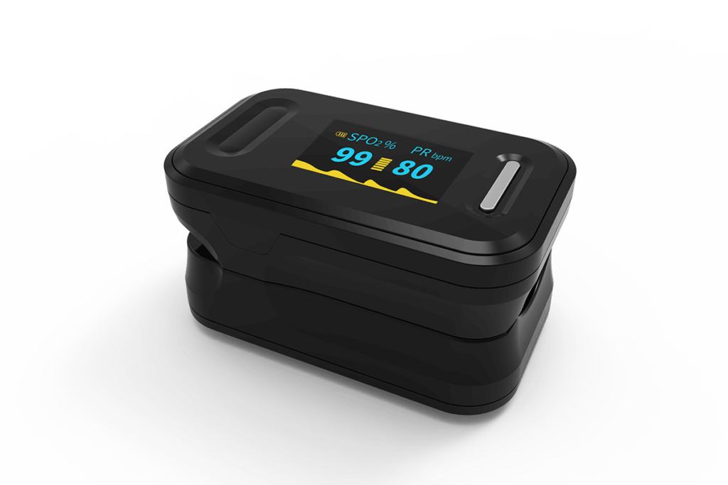 finger pulse oximeter b-81 oled black