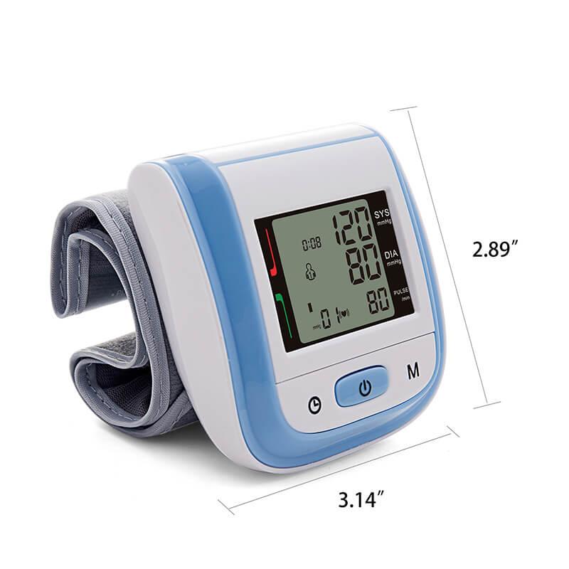 wrist blood pressure monitor BPW SIZE