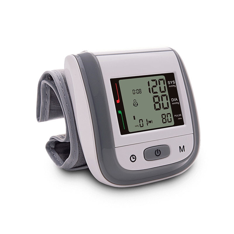 wrist blood pressure monitor BPW GREY