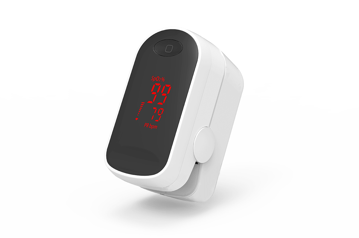 finger pulse oximeter C1 LED