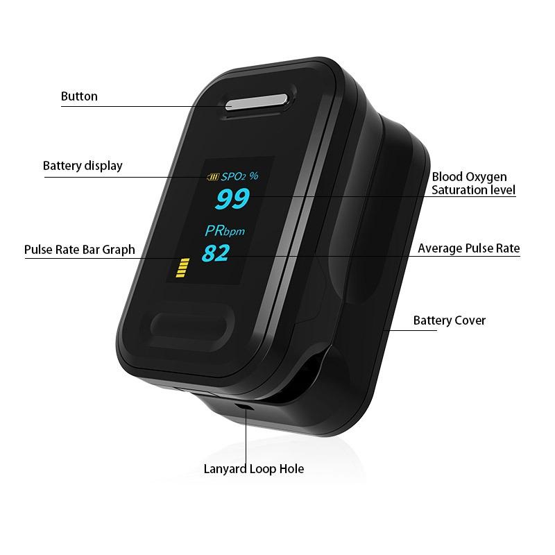 finger pulse oximeter B-81 OLED