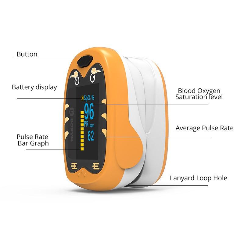 finger pulse oximeter oKids