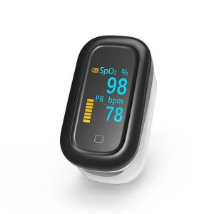 oFit1: Fingertip Pulse Oximeter with Touch