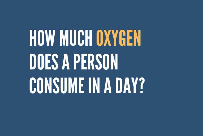 How Much Oxygen Does a Person Consume in a Day