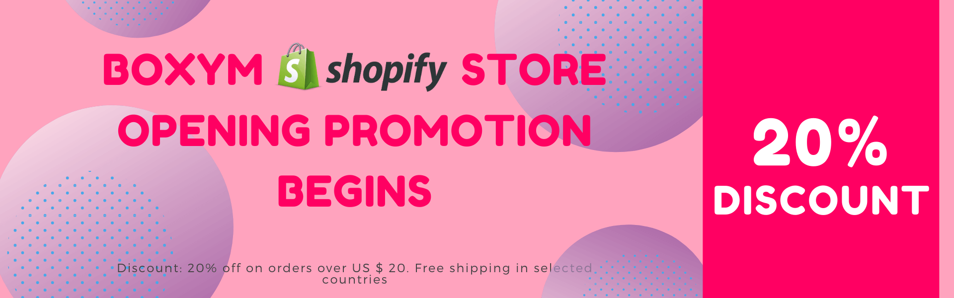 shopify store opening promotion