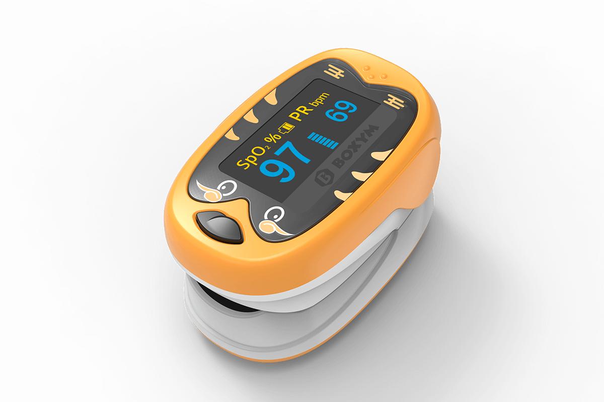 okids finger pulse oximeter